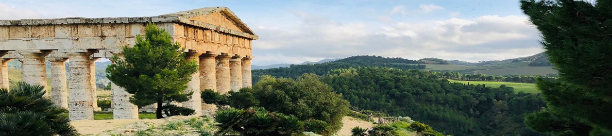 Doric Temple at Segesta photo by Leon Smith